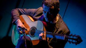Juan Pablo Luna, guitarrista flamenco y compositor chileno