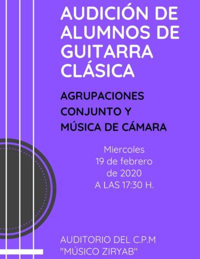 AUDICIÓN DE GUITARRA