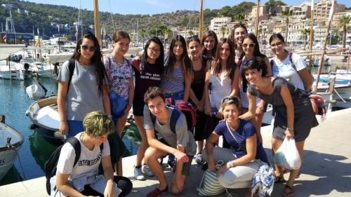 Intercambio de los alumnos de Flauta de Libertad Arce en Palma de Mallorca